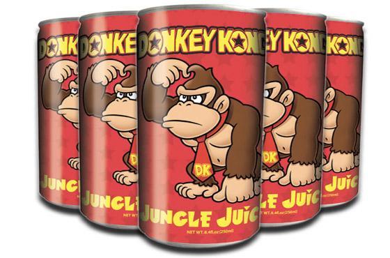 donkey kong jungle juice